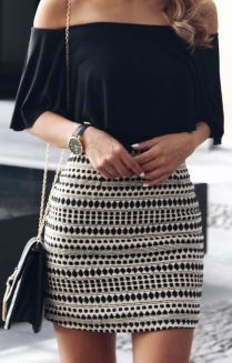 Fashionable skirt outfits ideas that you must try 37
