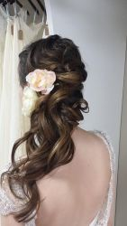 Gorgeous rustic wedding hairstyles ideas 15
