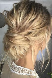 Gorgeous rustic wedding hairstyles ideas 18