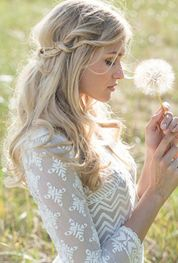 Gorgeous rustic wedding hairstyles ideas 3