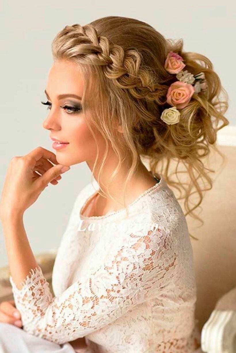Gorgeous rustic wedding hairstyles ideas 37