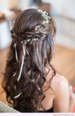 Gorgeous rustic wedding hairstyles ideas 43