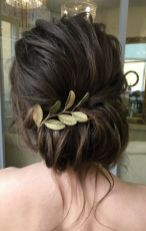 Gorgeous rustic wedding hairstyles ideas 55