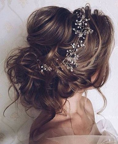 Gorgeous rustic wedding hairstyles ideas 64