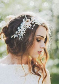 Gorgeous rustic wedding hairstyles ideas 7
