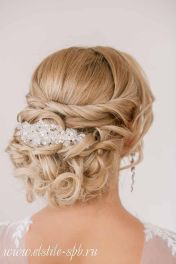 Gorgeous rustic wedding hairstyles ideas 8