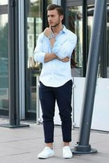 Inspiring casual men fashions for everyday outfits 16