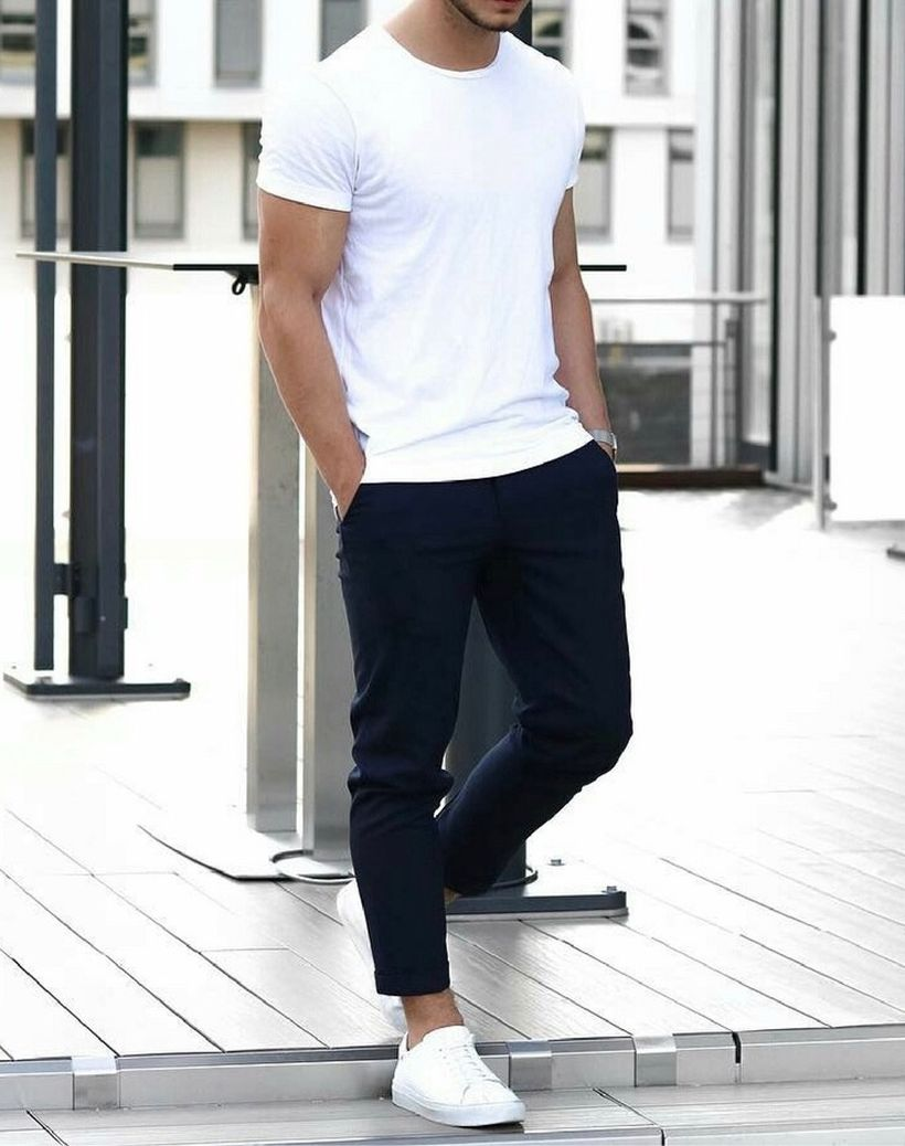 Inspiring casual men fashions for everyday outfits 42