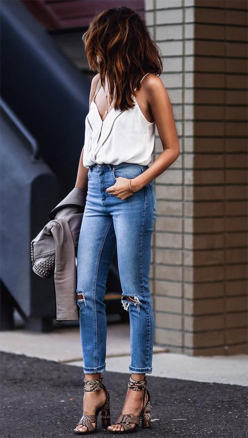 Inspiring simple casual street style outfits ideas 100