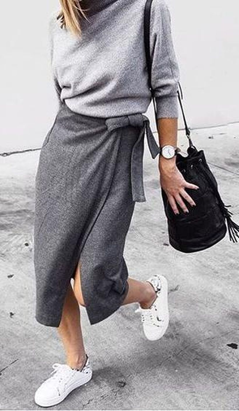 Inspiring simple casual street style outfits ideas 107