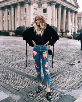 Inspiring simple casual street style outfits ideas 123
