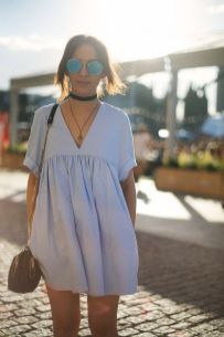 Inspiring simple casual street style outfits ideas 14
