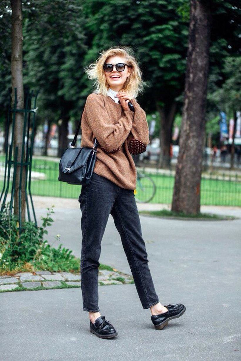 Inspiring simple casual street style outfits ideas 56