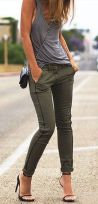 Inspiring simple casual street style outfits ideas 66