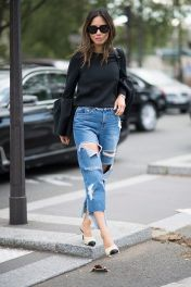 Inspiring simple casual street style outfits ideas 88