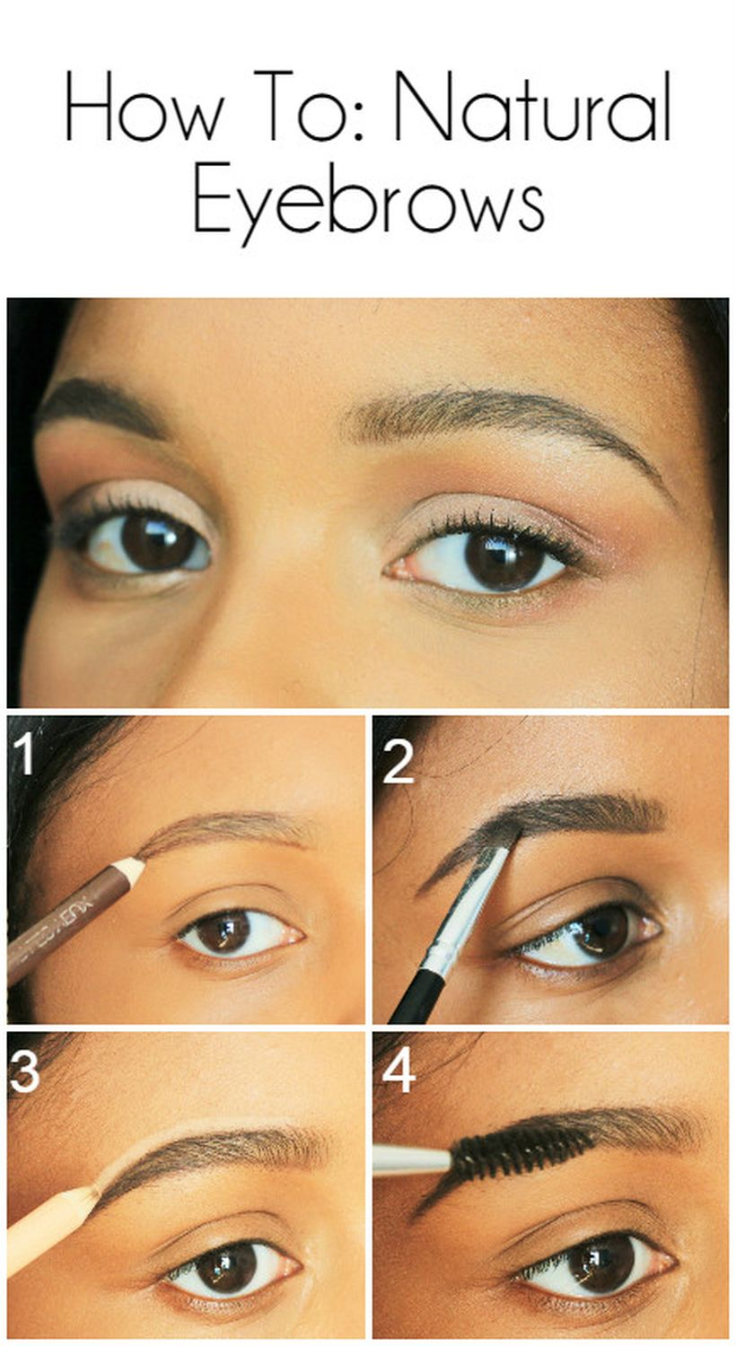 Perfect natural bold brows ideas 32