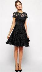Stunning black short dresses outfits for party ideas 10