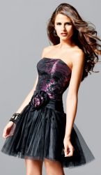 Stunning black short dresses outfits for party ideas 120