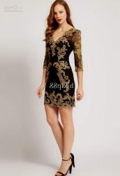 Stunning black short dresses outfits for party ideas 32