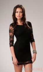 Stunning black short dresses outfits for party ideas 36