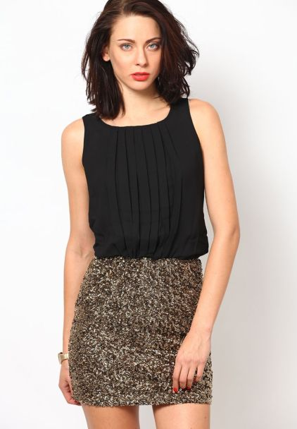 Stunning black short dresses outfits for party ideas 40