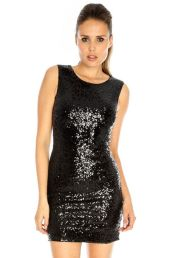 Stunning black short dresses outfits for party ideas 44