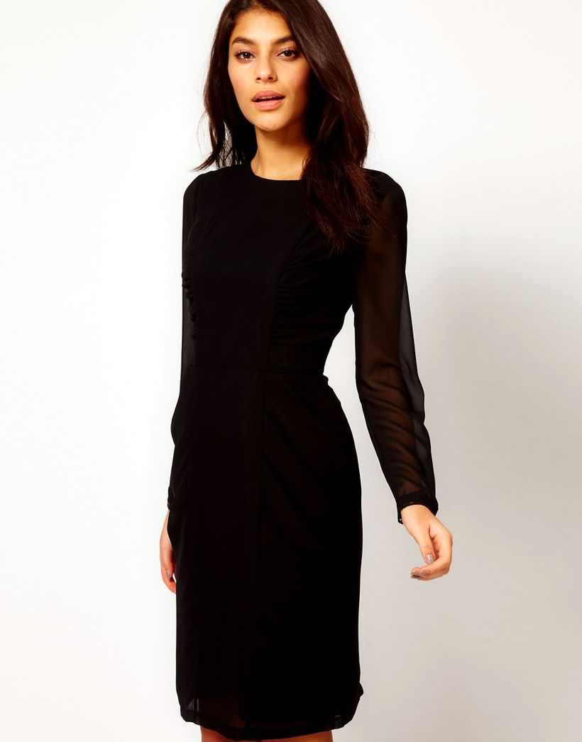 Stunning black short dresses outfits for party ideas 47
