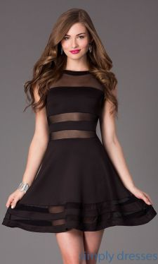 Stunning black short dresses outfits for party ideas 61