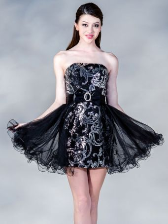 Stunning black short dresses outfits for party ideas 67