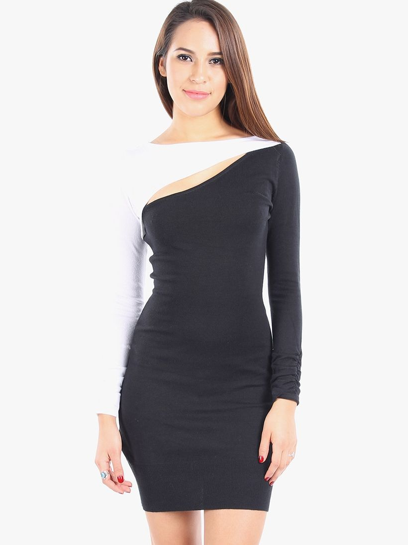 Stunning black short dresses outfits for party ideas 77