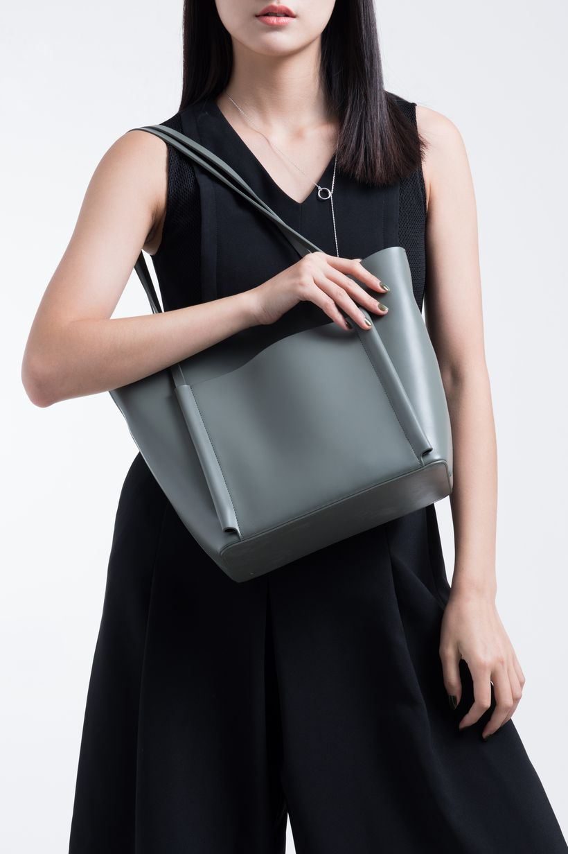 Stylish leather tote bags for work 1