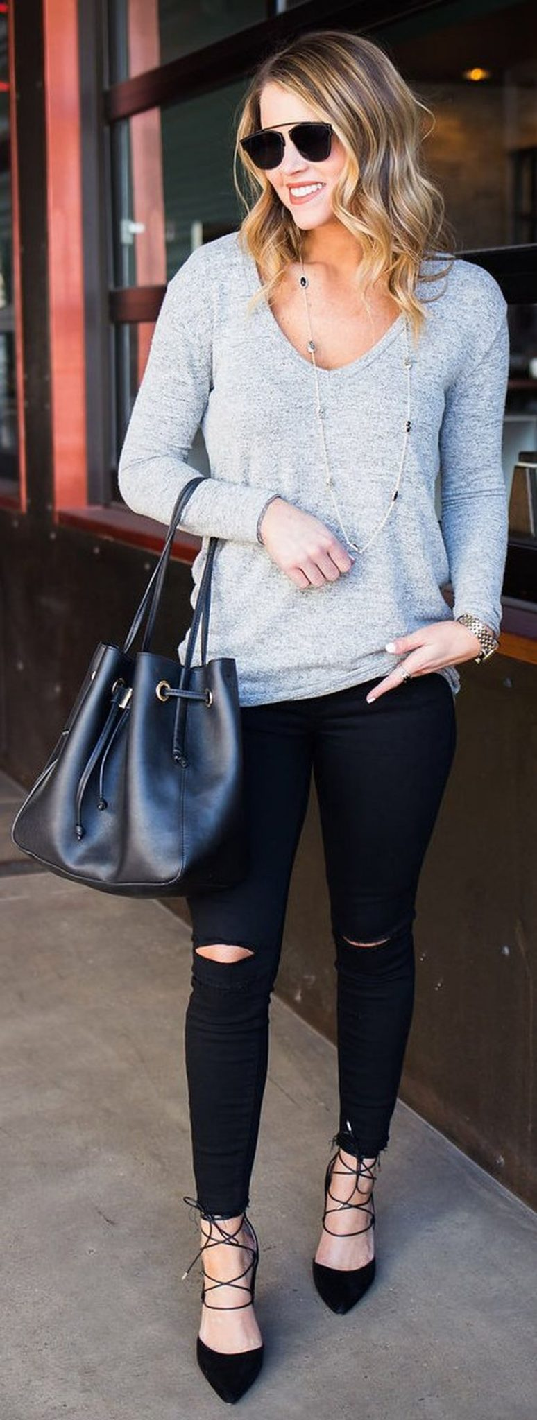 Stylish leather tote bags for work 101