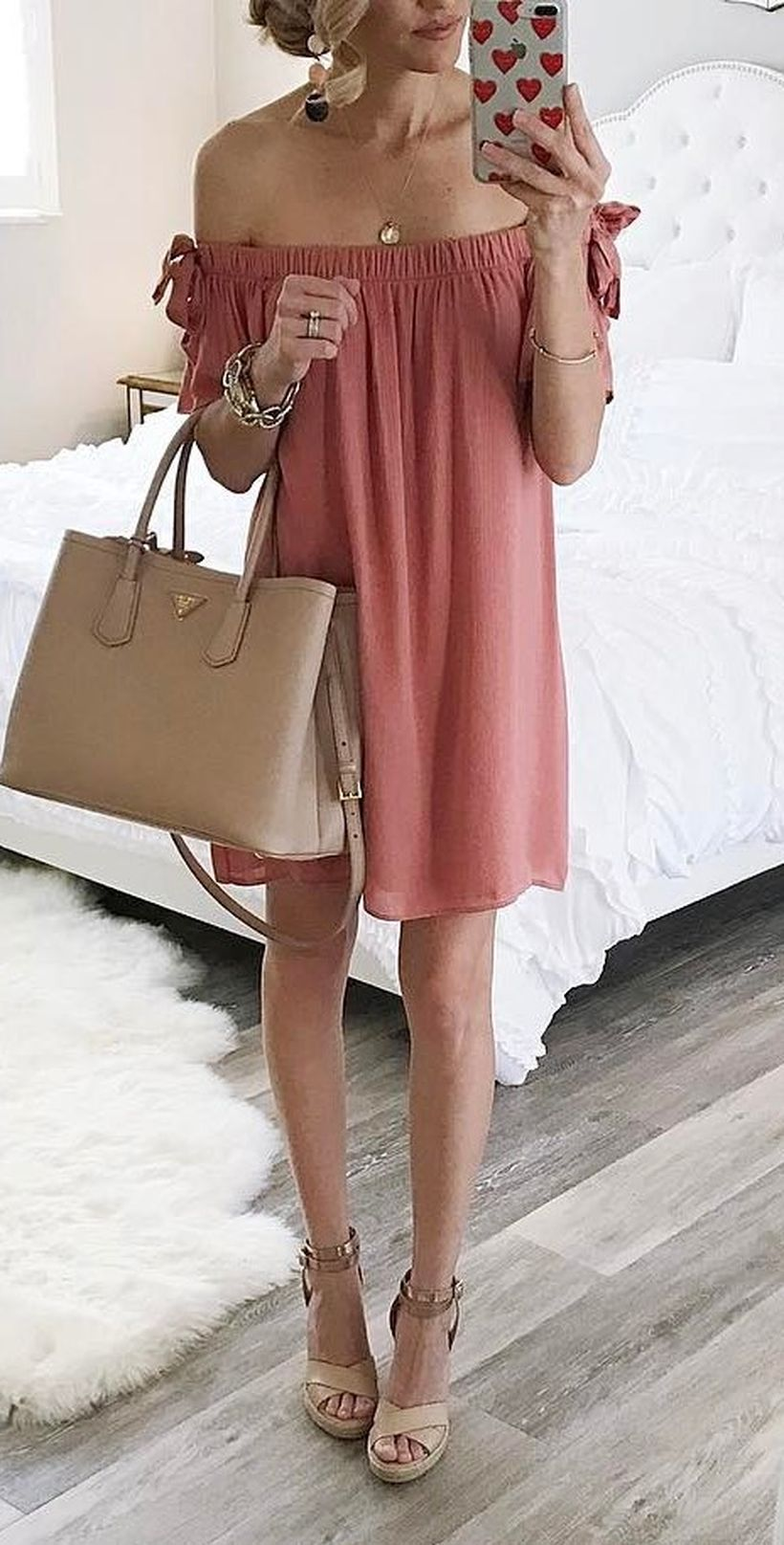 Stylish leather tote bags for work 16