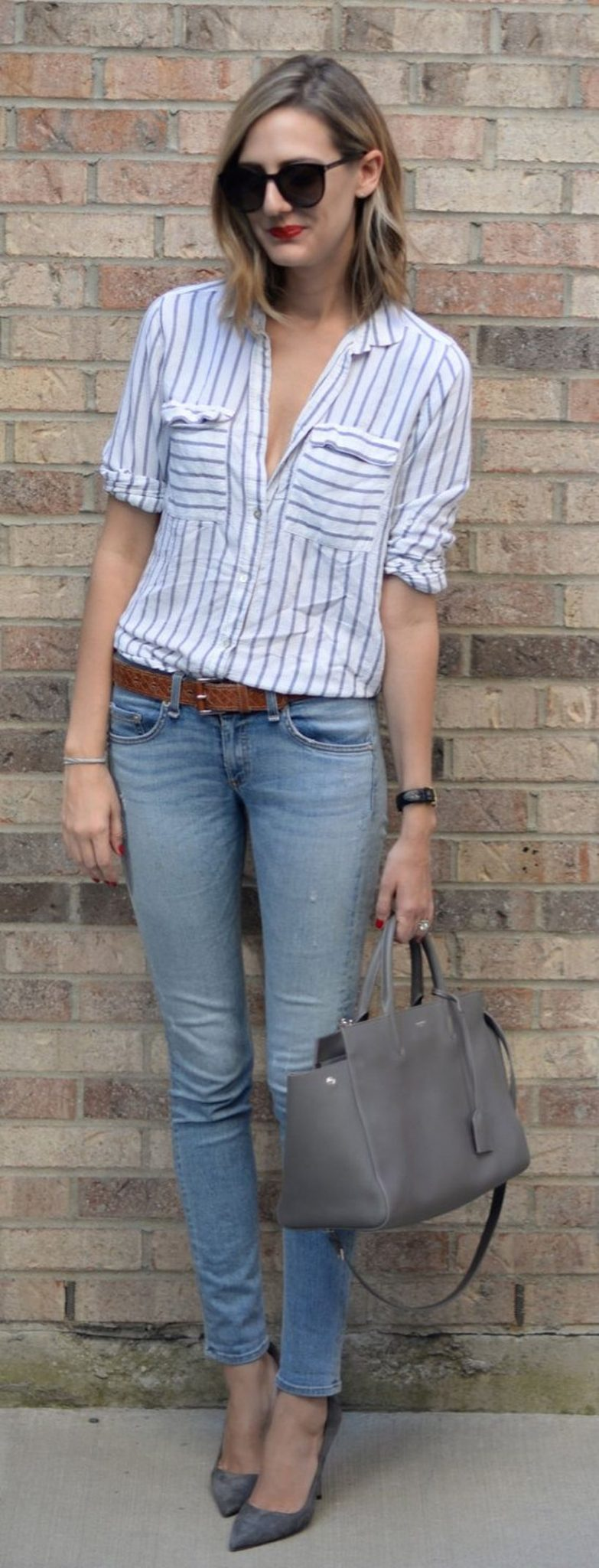 Stylish leather tote bags for work 24