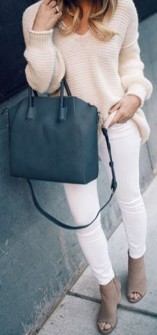 Stylish leather tote bags for work 46