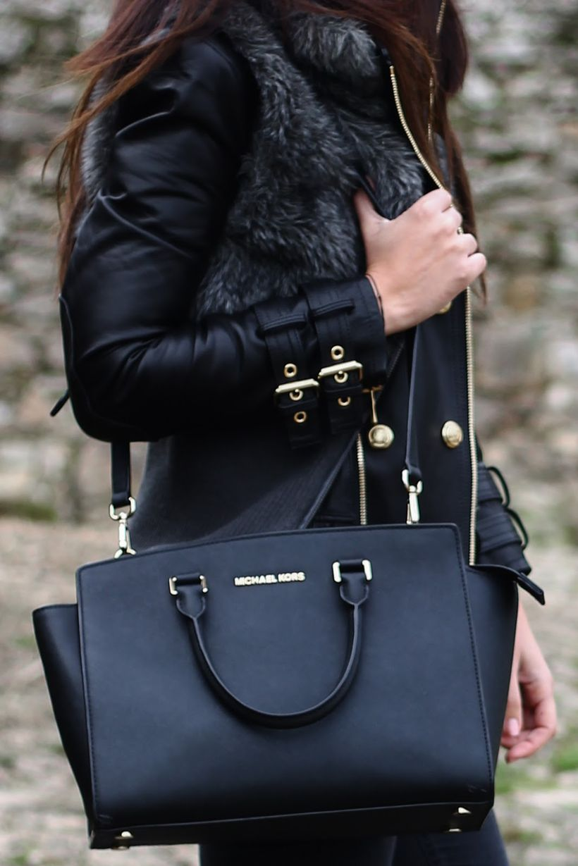 Stylish leather tote bags for work 49