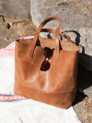 Stylish leather tote bags for work 61