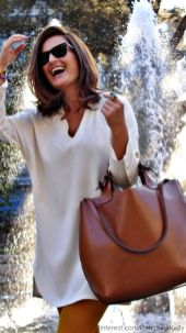 Stylish leather tote bags for work 69