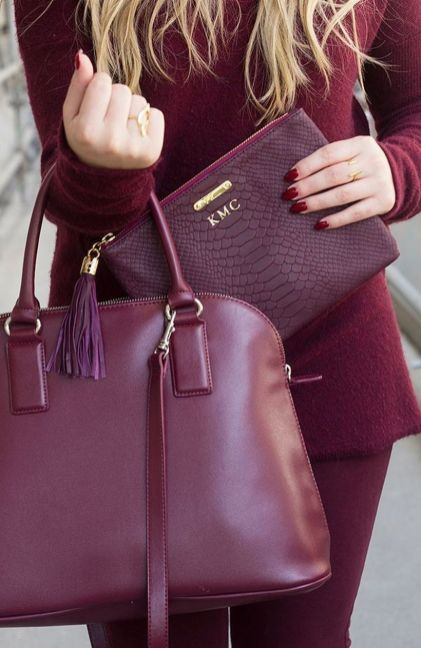 Stylish leather tote bags for work 77