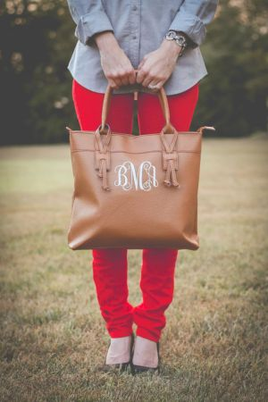 Stylish leather tote bags for work 84