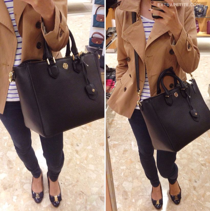 Stylish leather tote bags for work 88