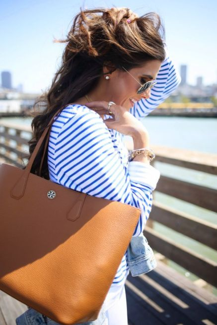 Stylish leather tote bags for work 91