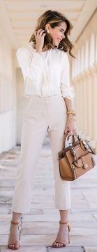 Stylish leather tote bags for work 93