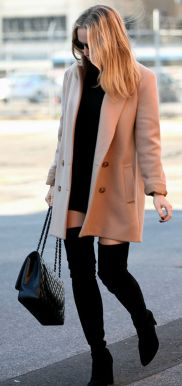 Trendy over the knee boots for winter and fall outfits 53