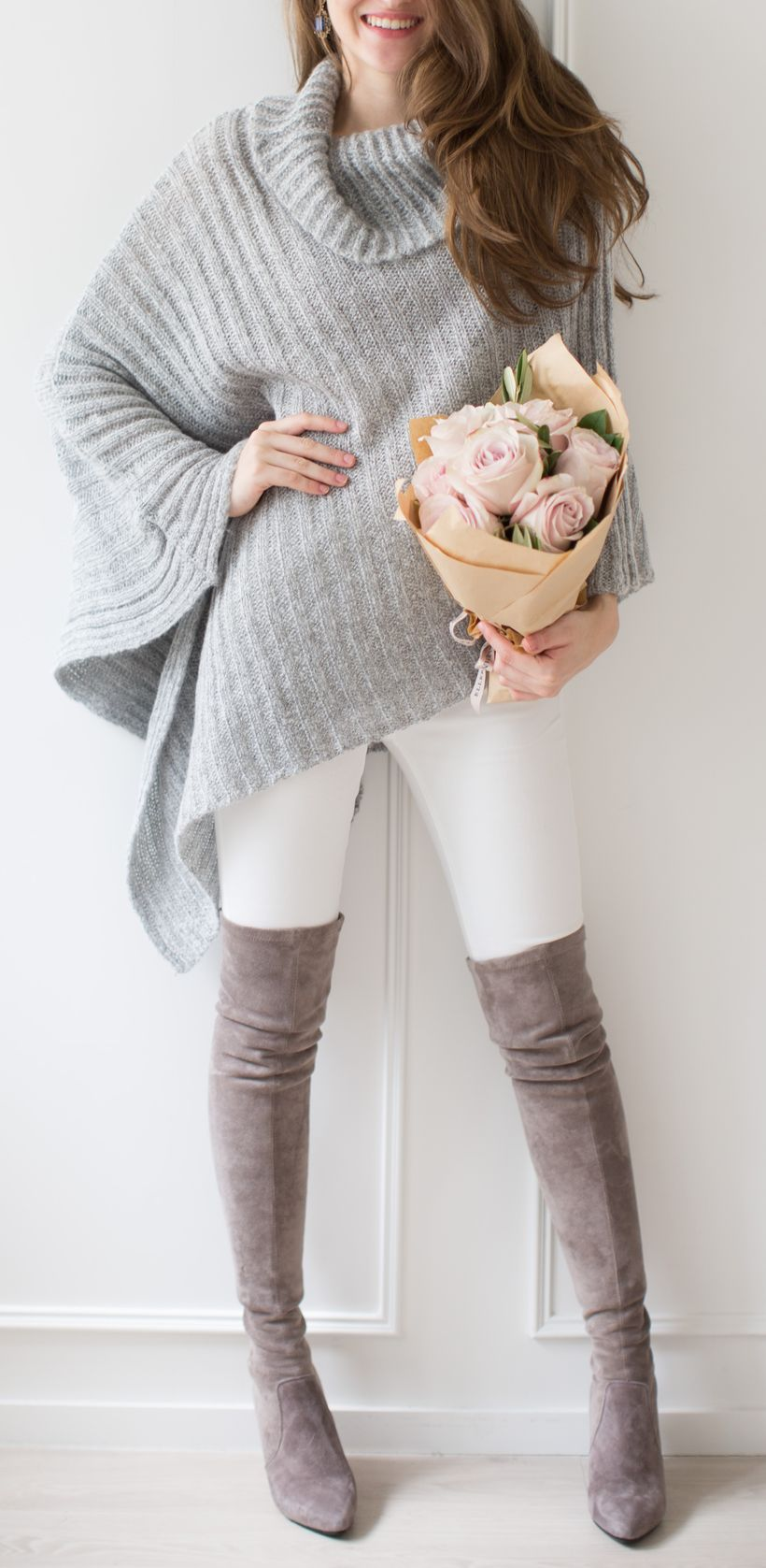 Trendy over the knee boots for winter and fall outfits 54