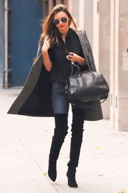 Trendy over the knee boots for winter and fall outfits 71
