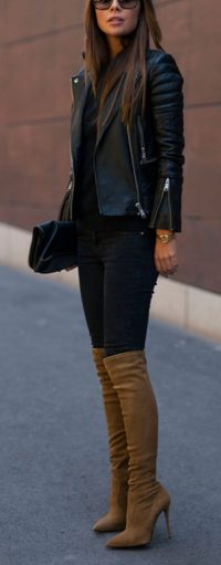 Trendy over the knee boots for winter and fall outfits 80