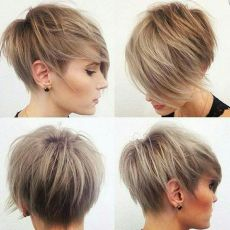 Cool short pixie ombre hairstyle ideas 19