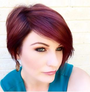 Cool short pixie ombre hairstyle ideas 33