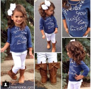 Cute fall outfits ideas for toddler girls 16